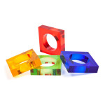 Modern and colorful napkin rings - home.planetfem.com