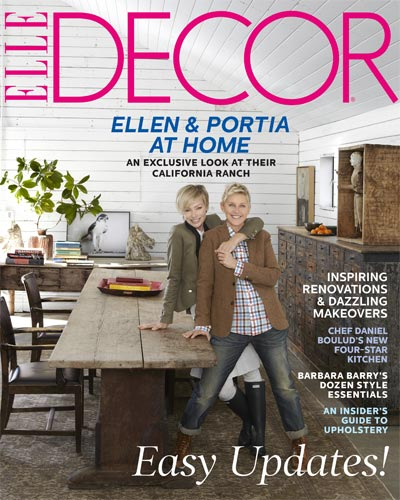 Celebrity Homes: Portia and Ellen