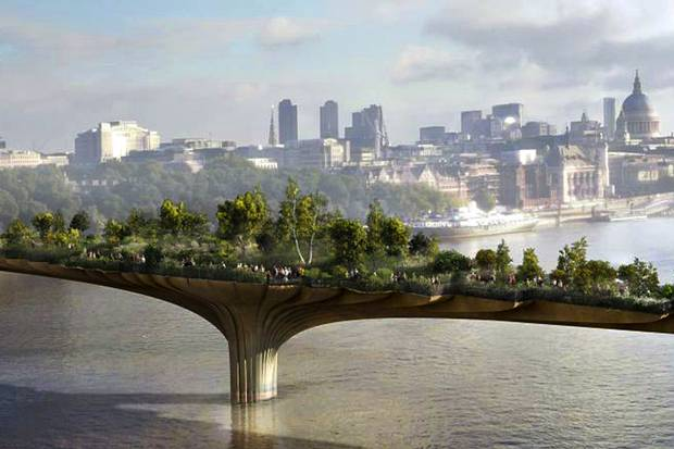 Architecture: Garden Bridge, London