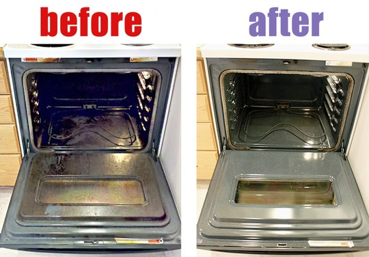 Cleaning The Oven: A Fab Tip