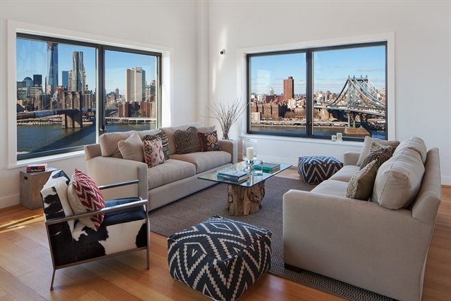 Appartement met gigantische klok in brooklyn home home - Appartement new york brooklyn ...