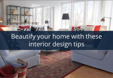 Beautify your home with interior design tips